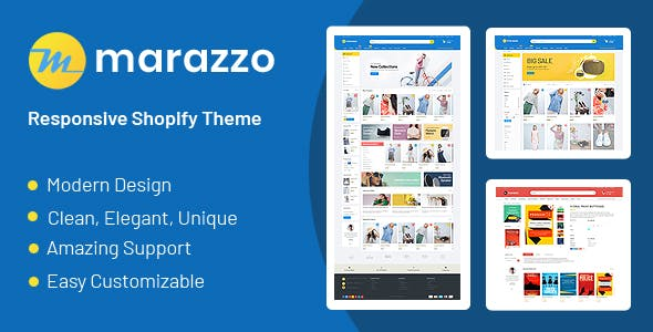 Marazzo - Drag & Drop Sectioned Ecommerce Shopify Theme