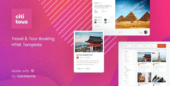 Cititous - Tour & Travel HTML Template - Travel Retail