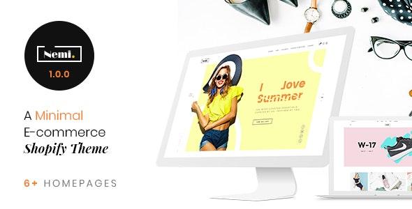 Nemi - Multi Store Responsive Shopify Theme - Shopify eCommerce