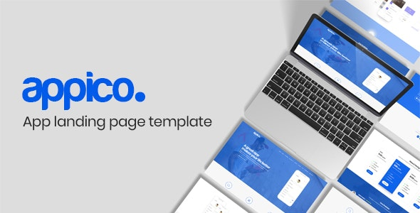 Appico | App Landing Page Template - Apps Technology