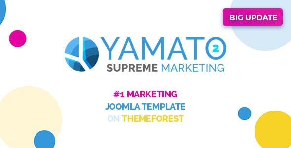 Yamato | Responsive Marketing Joomla Template and Page Builder