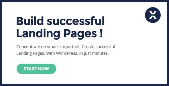Leadx - Landing Page & Marketing WordPress Theme