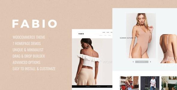 Fabio WooCommerce Shopping Theme - WooCommerce eCommerce