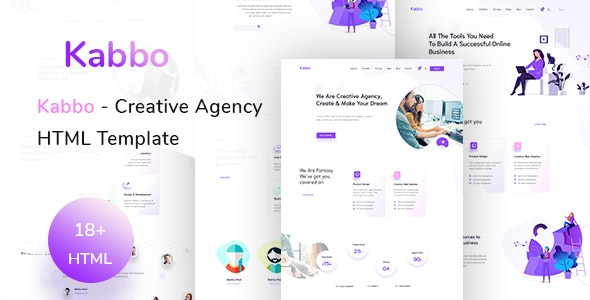 Kabbo - Creative Agency HTML Template - Business Corporate
