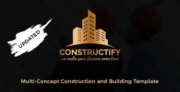Constructify -  Construction / Industry / Factory Template - Business Corporate