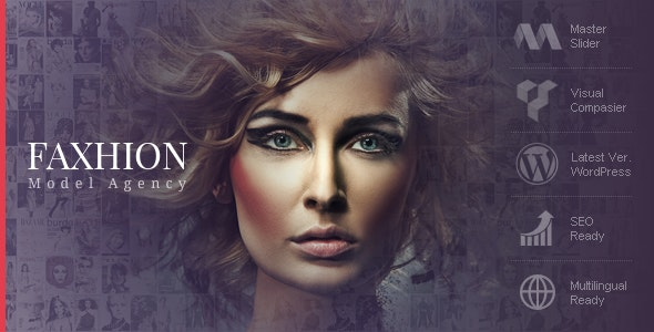 Faxhion - Model Agency WordPress Theme - Fashion Retail