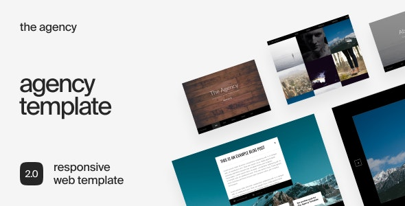The Agency - Responsive Business HTML Template - Business Corporate