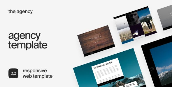 The Agency - Responsive Business HTML Template