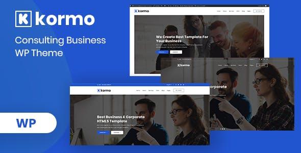 Kormo – Consulting Business WordPress Theme