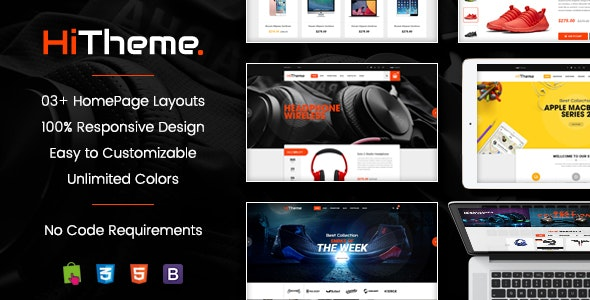 HiTheme - Wonderful Responsive PrestaShop 1.7 Theme - PrestaShop eCommerce