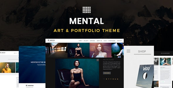 Mental | Art & Portfolio Theme - Portfolio Creative