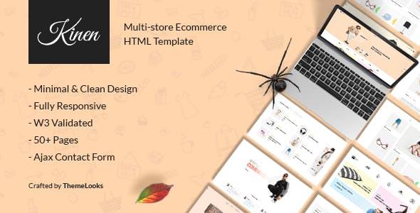 Kinen | Multipurpose Ecommerce Template