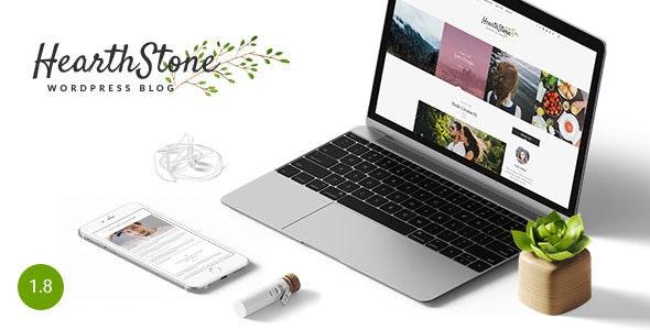 HearthStone - Responsive WordPress Blog Theme - Personal Blog / Magazine
