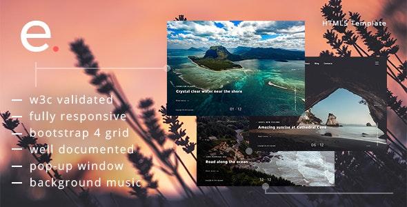 Episoda - Photography Portfolio & Blog HTML Template - Photography Creative