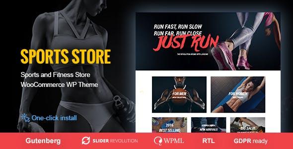 Sports Store- WooCommerce WordPress Theme