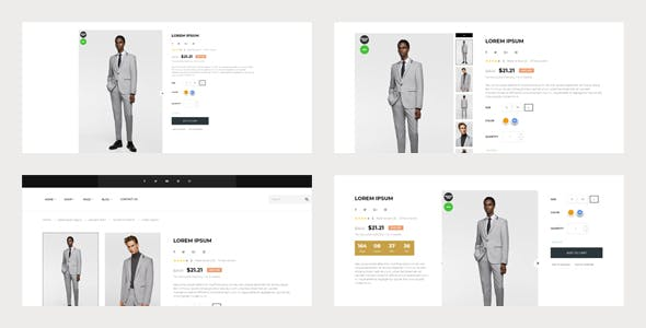 Bos Soucer - Men Fashion And Accessories Prestashop 1.7 Theme