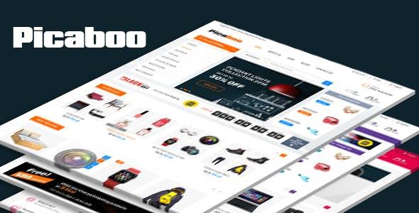 Picaboo - Electronics Shopify Theme