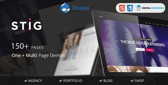 Stig - Multipurpose One/Multi Page Commerce Theme - Business Corporate