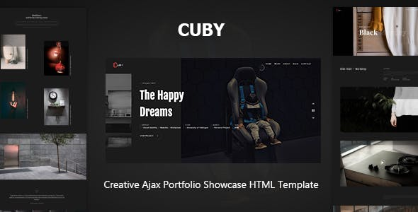 Animation and SVG HTML Website Templates from ThemeForest