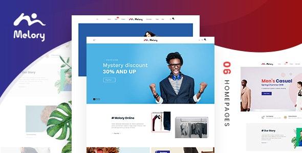 Melory - Modern Fashion WooCommerce Theme - WooCommerce eCommerce