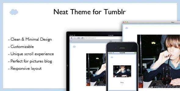 Neat Tumblr Theme - Blog Tumblr