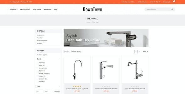 Down Town - Multipurpose Stencil BigCommerce Theme