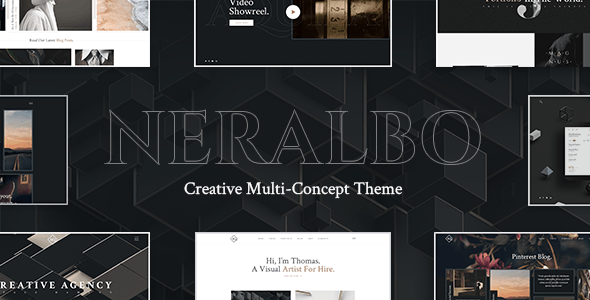 Neralbo - Creative Portfolio Theme - Creative WordPress