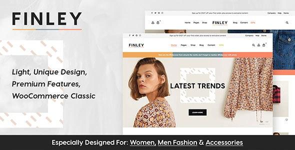 Finley - Fashion WooCommerce Theme - WooCommerce eCommerce