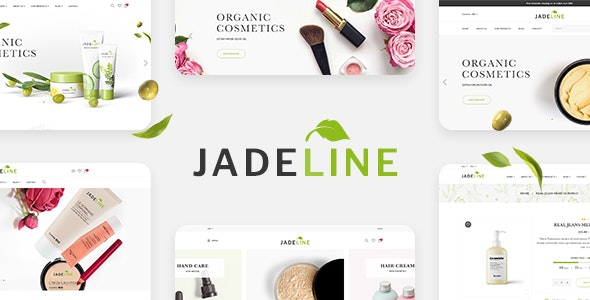 Jadeline - Responsive eCommerce PSD Template - Health & Beauty Retail