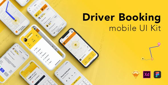 Uber App Website Templates from ThemeForest
