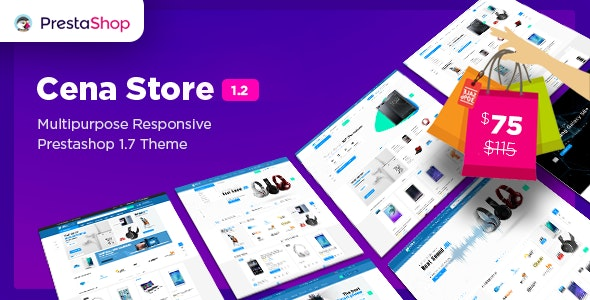 Cena Store - Multipurpose Responsive Prestashop 1.7 Theme 10+ Homepages Mobile Layout Included - Technology PrestaShop