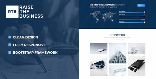 RTB - Business and Corporate HTML Template - Business Corporate