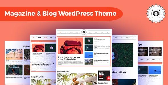 Octamag - Viral Blog & Magazine WordPress Theme