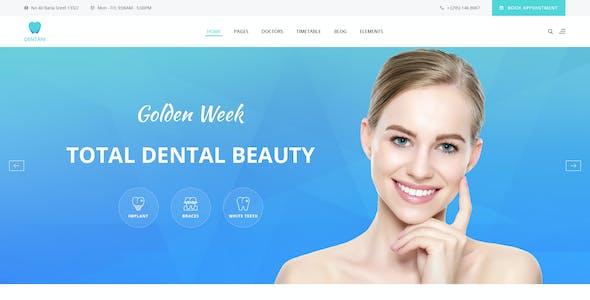 Dentas | Dentist & Medical PSD Template