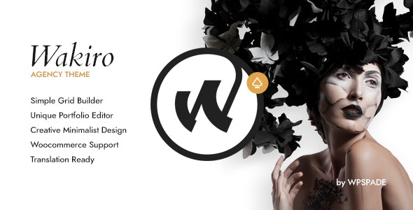 Wakiro Agency - Portfolio Theme by wpSpade | ThemeForest