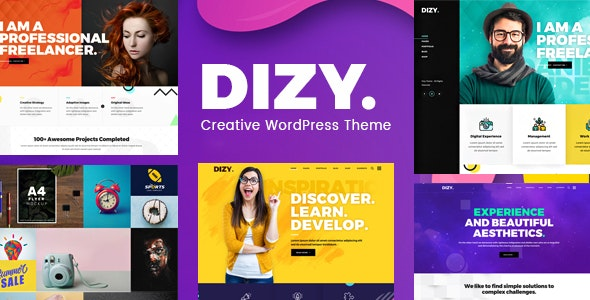 Dizy - Creative Portfolio Theme - Creative WordPress