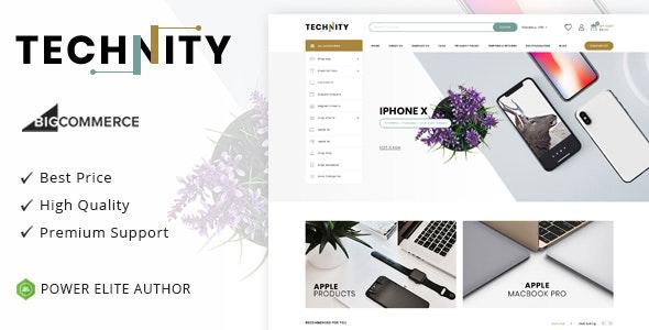 Technity - Multipurpose Stencil BigCommerce Theme - BigCommerce eCommerce