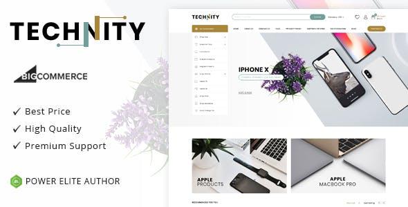 Technity - Multipurpose Stencil BigCommerce Theme