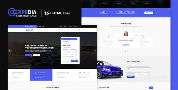 Xpedia - Car Rental HTML Template