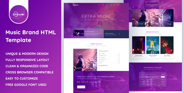 Musier - Music HTML Template - Music and Bands Entertainment