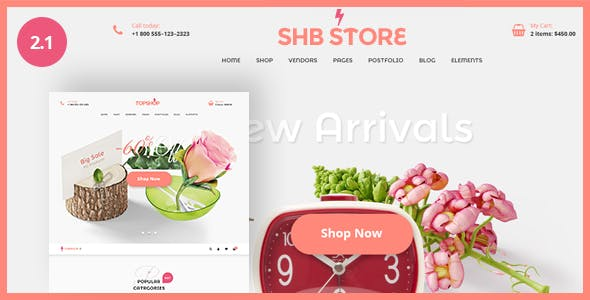 Spa Health & Beauty - RTL Responsive Shop WooCommerce WordPress Theme