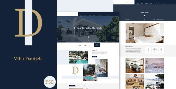 Danijela - Luxury Villa PSD Template - Travel Retail