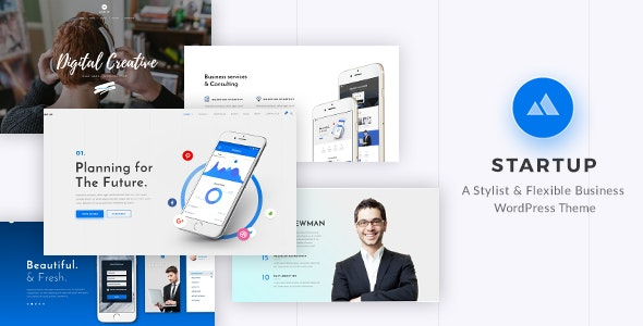 StartUp - Responsive Multi-Purpose WordPress Theme - Business Corporate