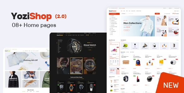 Yozi - Multipurpose Electronics WooCommerce WordPress Theme - WooCommerce eCommerce