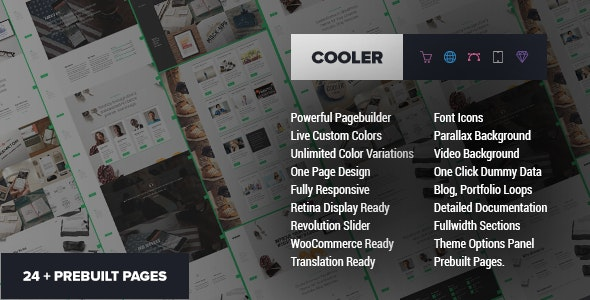 Cooler - Ultimate MultiPurpose WP Theme - Portfolio Creative