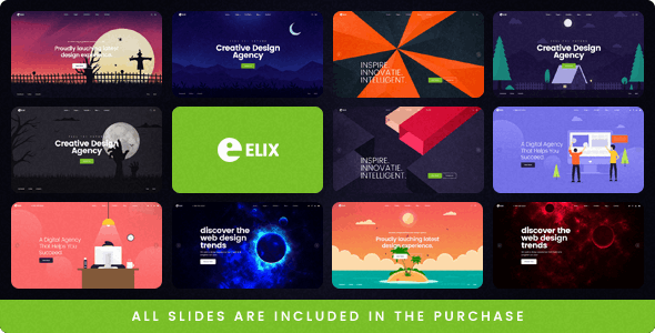 Elix - A Super PSD Template for Designers, Artists and Agencies - Business Corporate