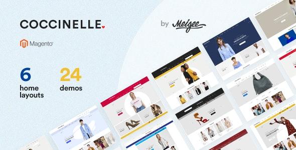 Coccinelle - Multi-Purpose Responsive Magento 2.3.3 Theme - Site Templates