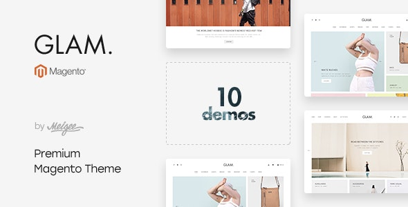Glam - Multi-Purpose Responsive Magento 2.3.5 Theme - Magento eCommerce