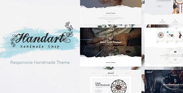 Handart - Handmade Theme for WooCommerce WordPress - WooCommerce eCommerce
