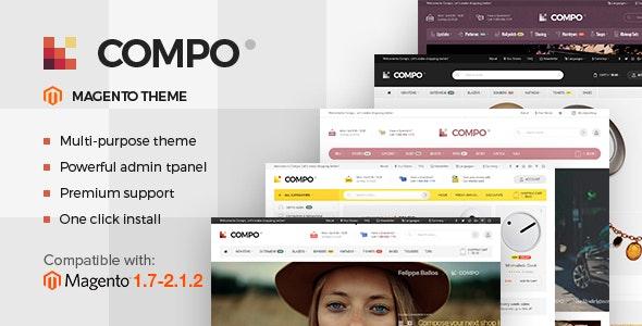 Compo - Multi-Purpose Responsive Magento 2 Theme - Magento eCommerce